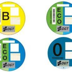 Madrid Central: ¿qué significan los números de las pegatinas de la DGT?